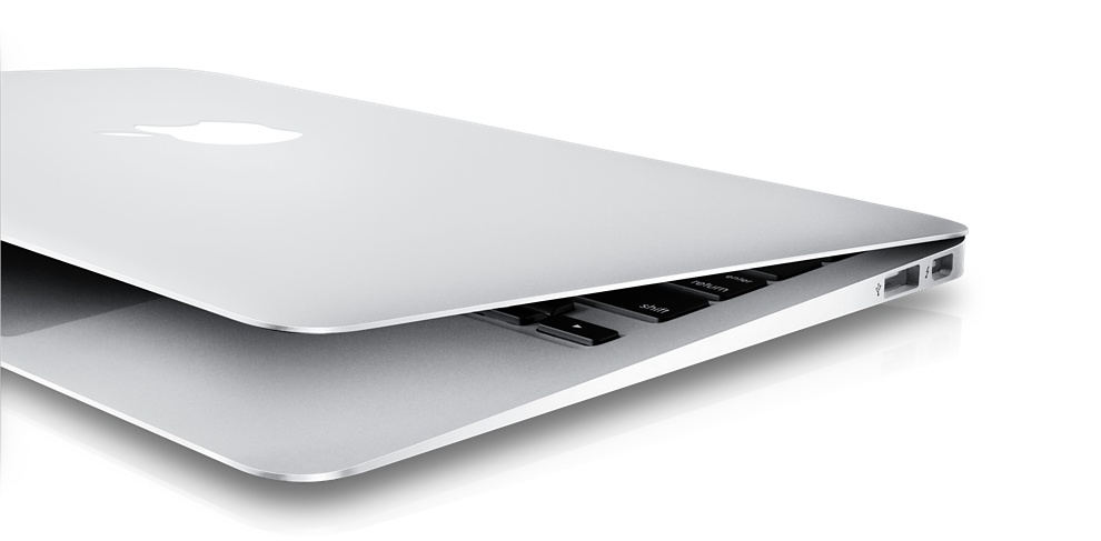 Apple Macbook Air Aussenansicht